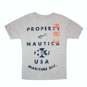 Nautica Boy's Short Sleeve Shirt